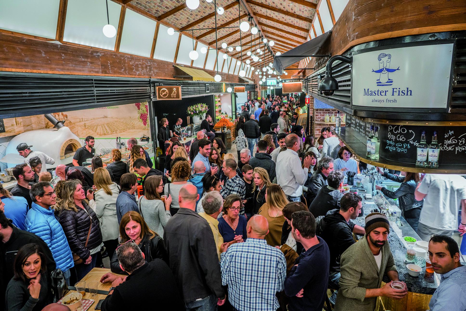 Rothschild Allenby Market opens its doors