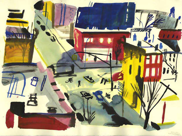 Yann Kebbi: Monoprints and Drawings