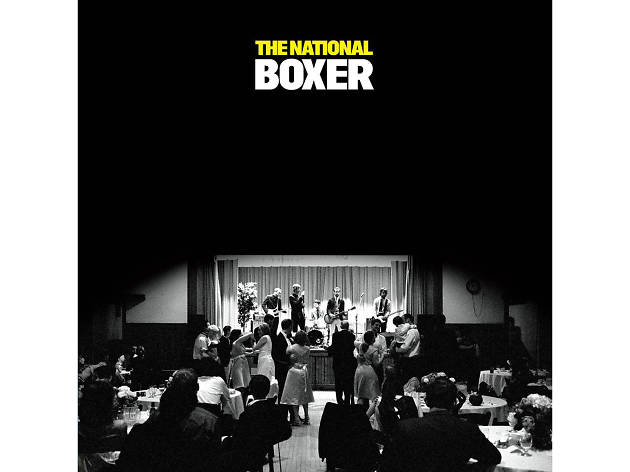 Boxer by the National album cover