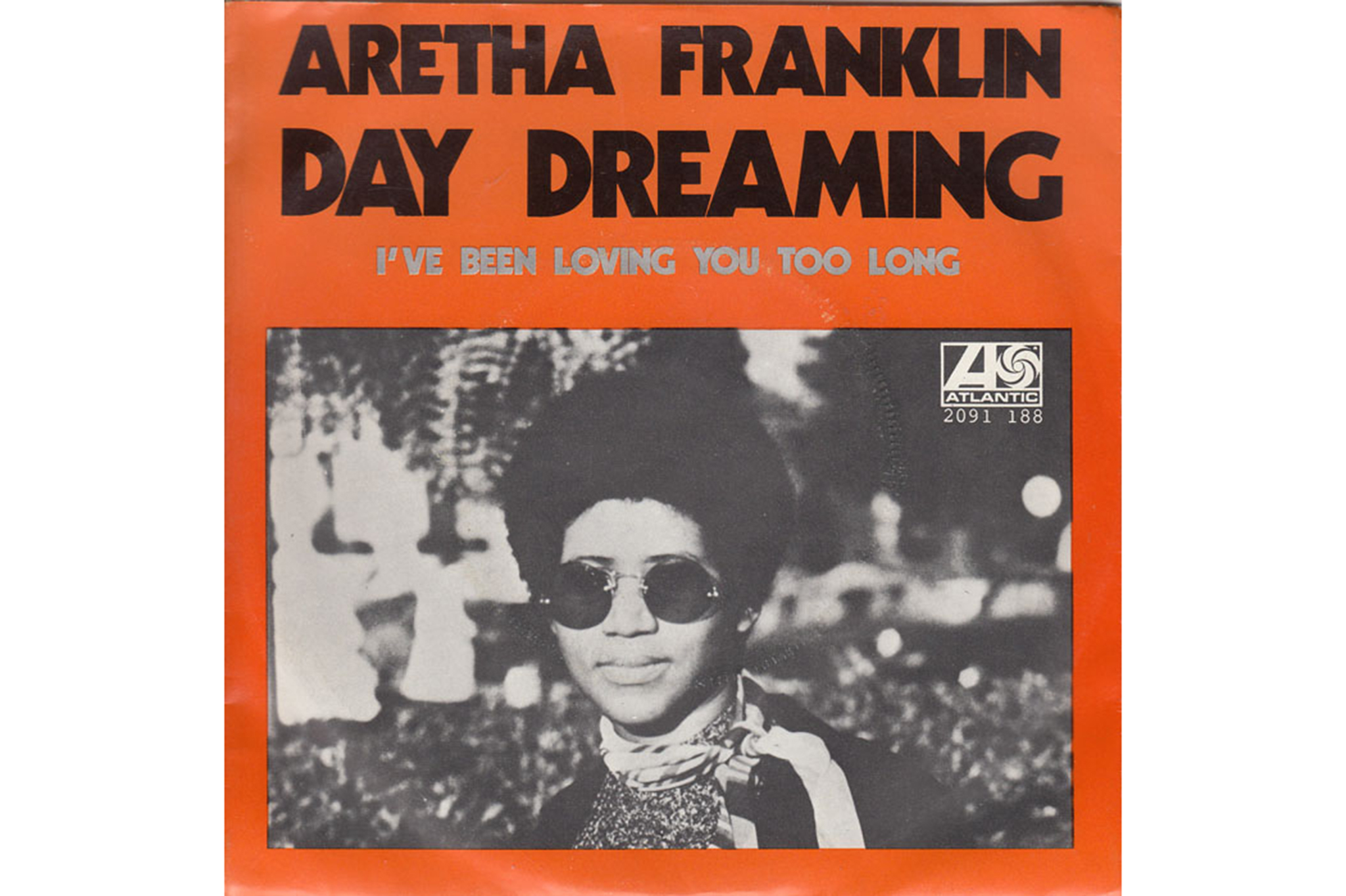 """Aretha Franklin's """"Day Dreaming"""" album cover"""