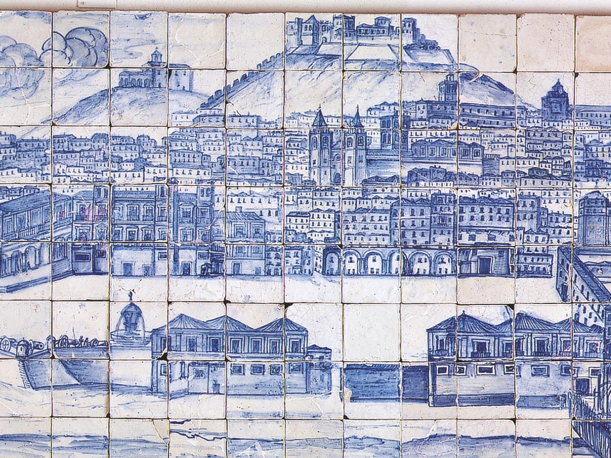 Pormenor do Grande Panorama de Lisboa
