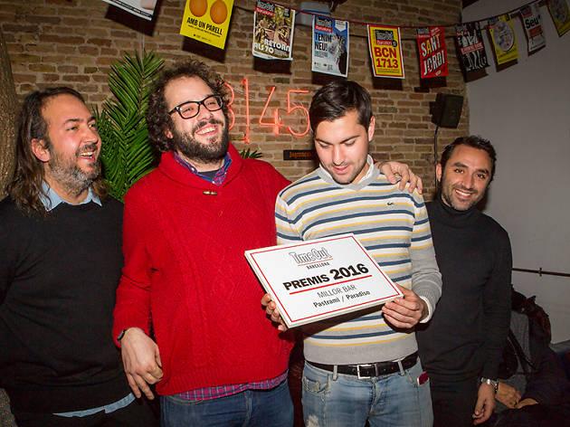 Els responsables que el Pastrami / Paradiso sigui el millor bar del 2016 (i Andreu Gomila)