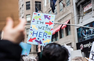 Women's March 2017 in NYC