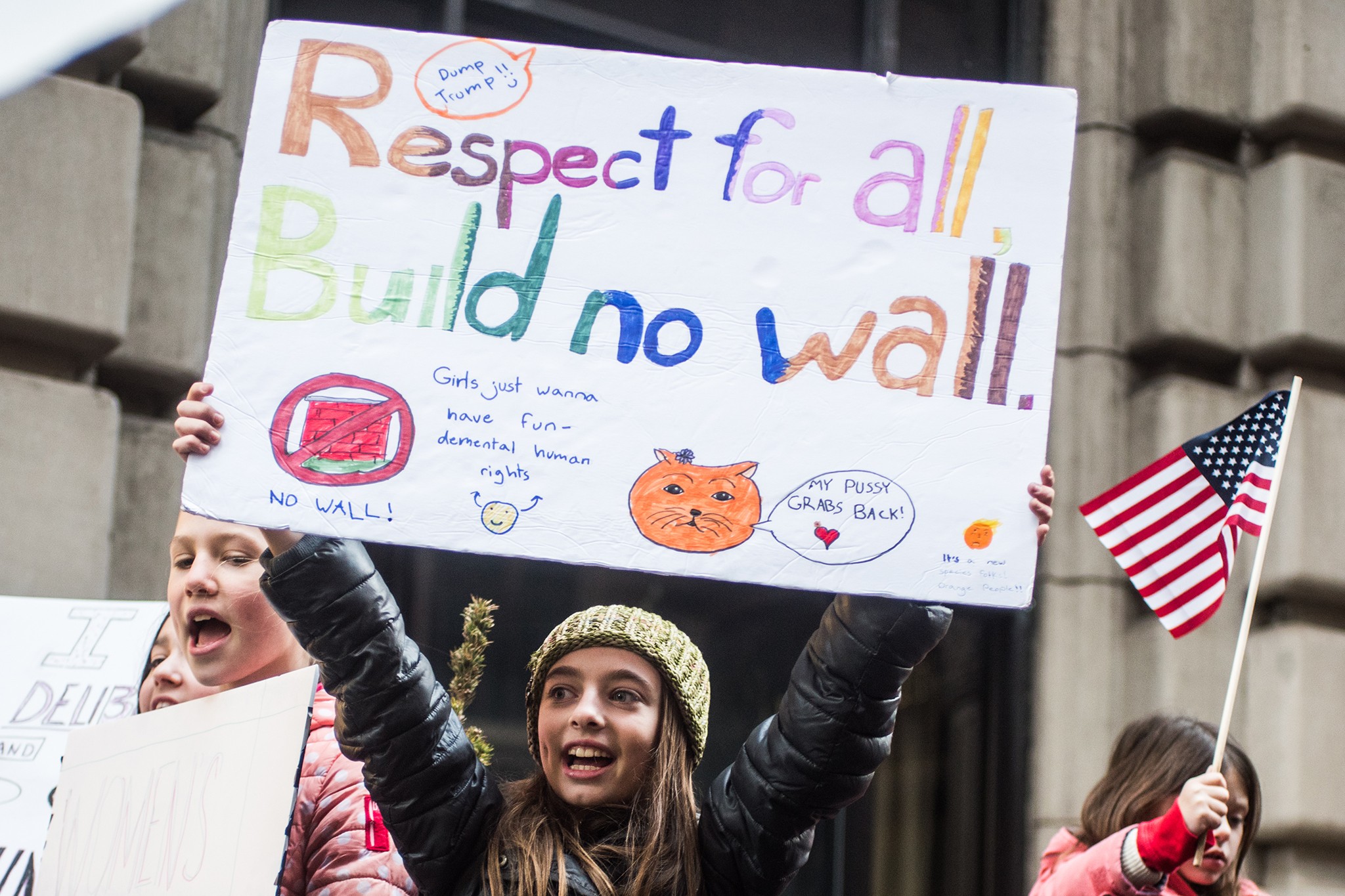 The 35 most badass photos from the Women's March in NYC 2017