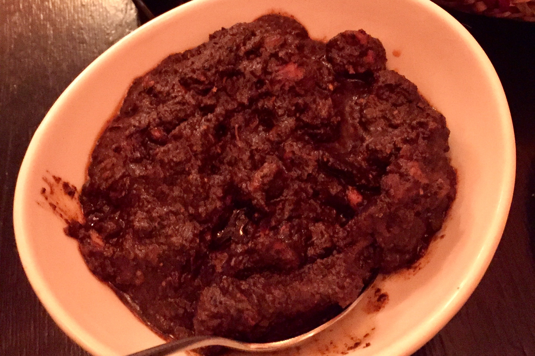 Black Pork Curry, Sigiri Sri Lanka Restaurant