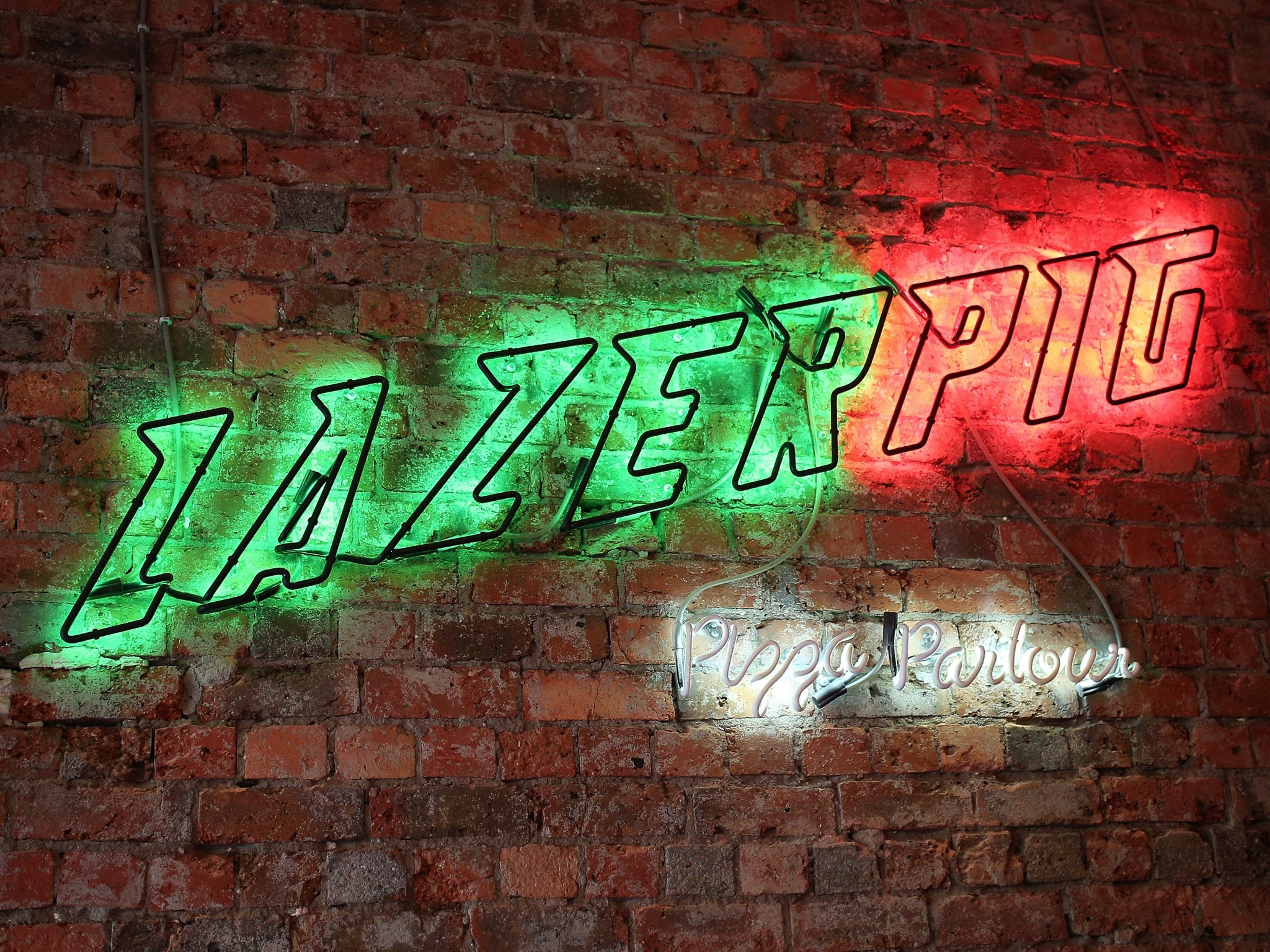 Signage at Lazerpig