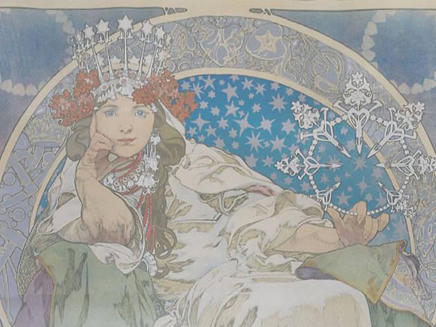 """Alphonse Mucha, """"Princess Hyacinth"""", 1911."""