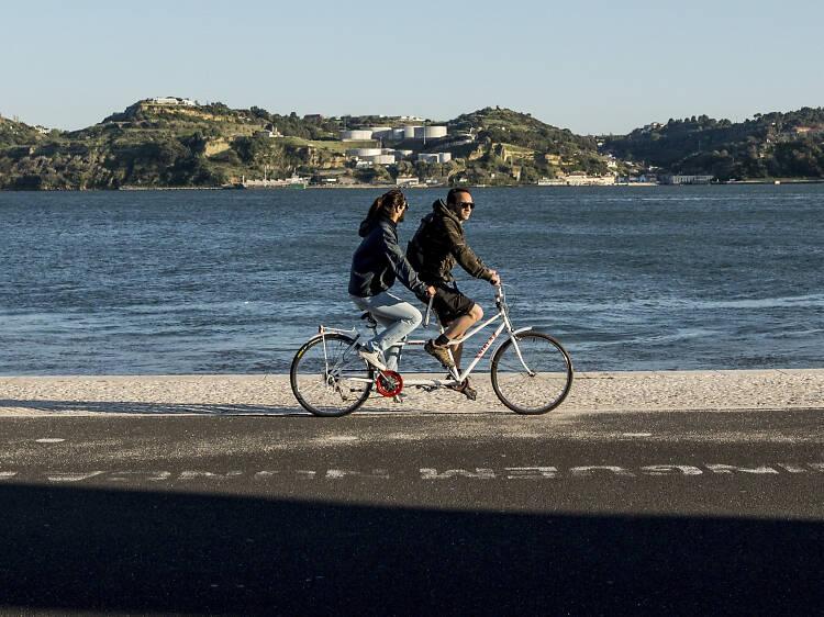 Lisbon Waterfront Bike Tour