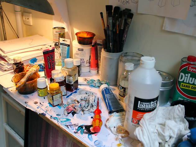 Les ateliers d'artistes à Paris