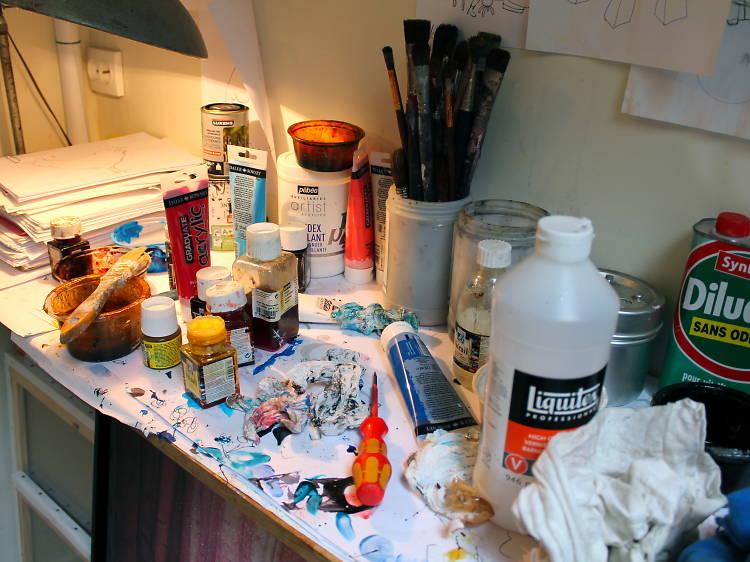 Voir tous les ateliers d'artistes à Paris...