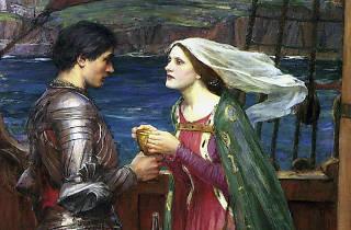 Tristão e isolda com a poção,  John William Waterhouse