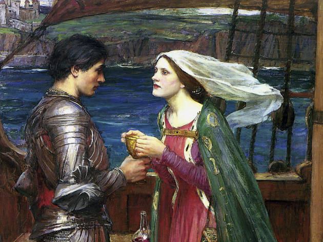 Tristão e isolda com a poção,  John William Waterhouse