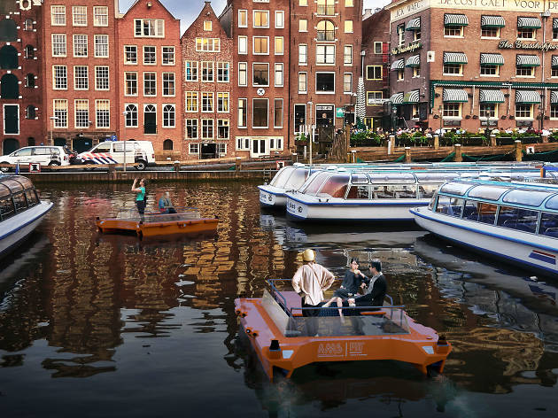 Amsterdam's robot boats