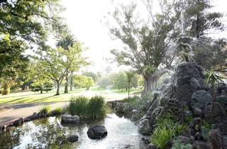 Fitzroy Gardens fountain