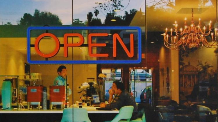 오픈 사인