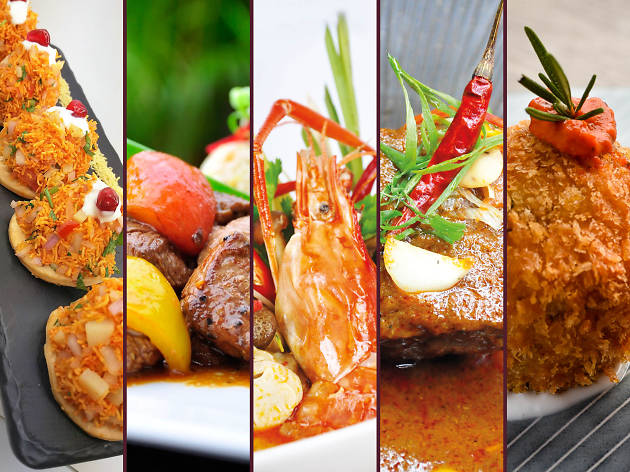 Half-price meals at five restaurants!