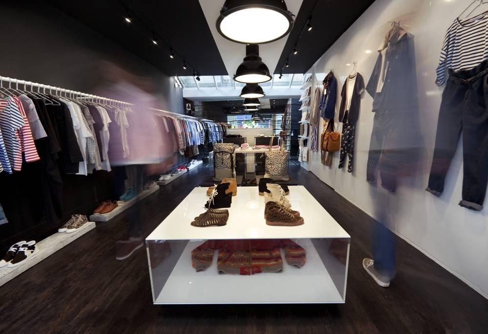 Men's fashion shops