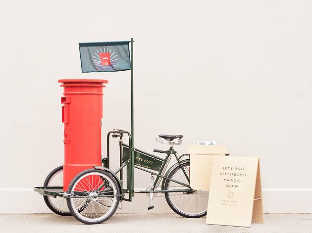 Valentine's Pop-Up Post Box