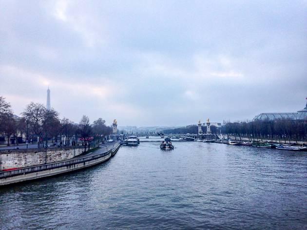 Raisons d'aimer la vague de froid à Paris