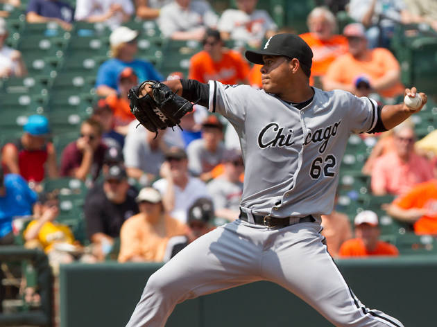 White Sox starting pitcher Jose Quintana is likely to start the 2017 season as the team's best pitcher, following the trade of Chris Sale this offseason.