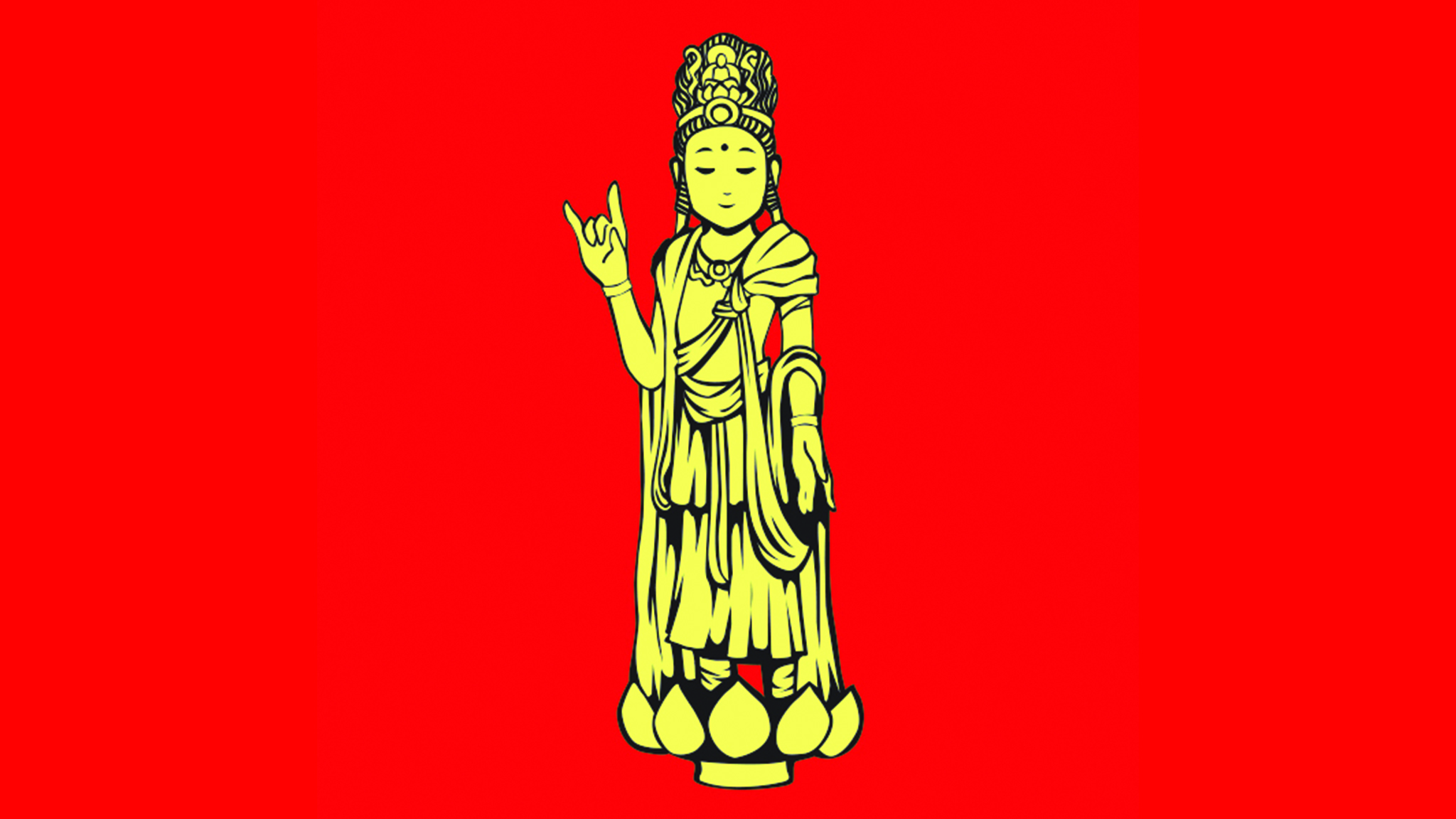 Guanyin goddess at Thienfa Chinese New Year
