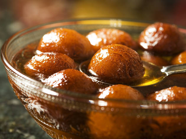 Indian sweets/dessert gulab jamun - istockphoto