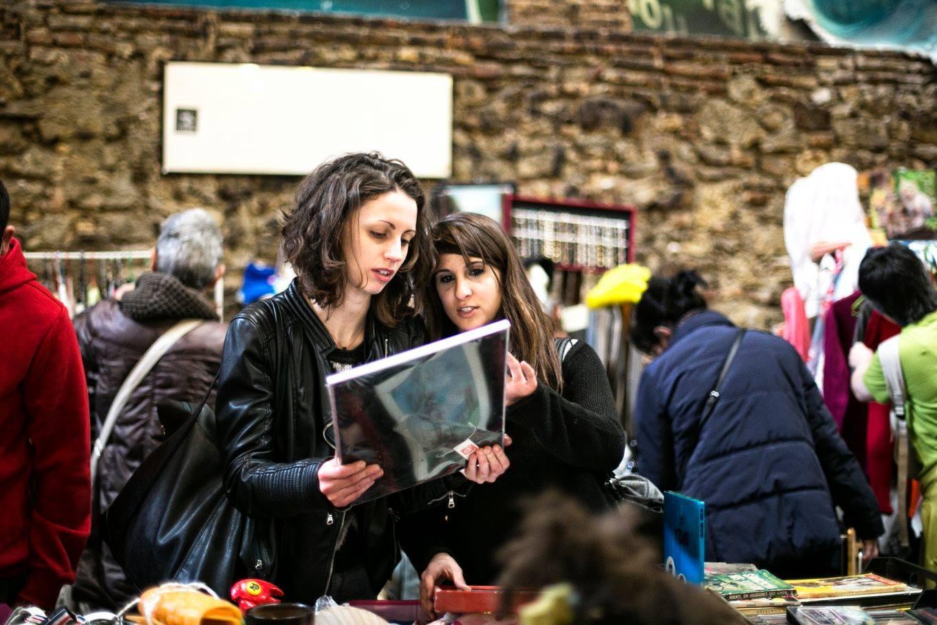 Mercados de fin de semana en Barcelona