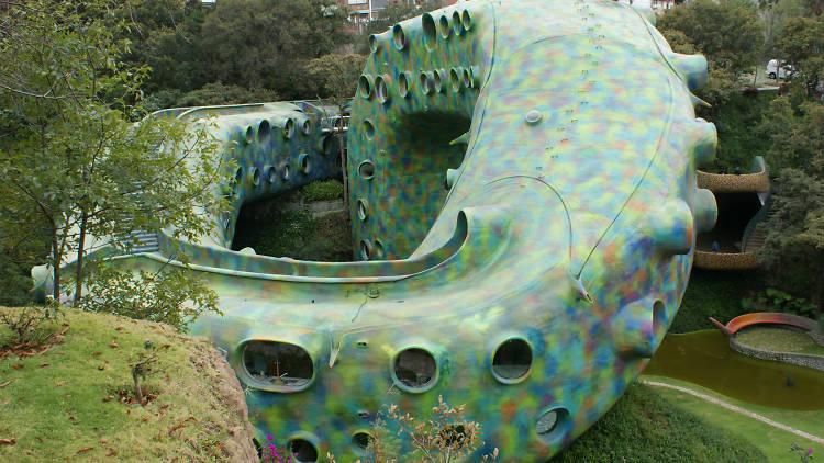 Nido de Quetzalcóatl de Javier Senosiain