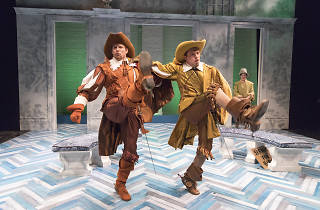 Theater review: The Liar catches fire at Classic Stage Company