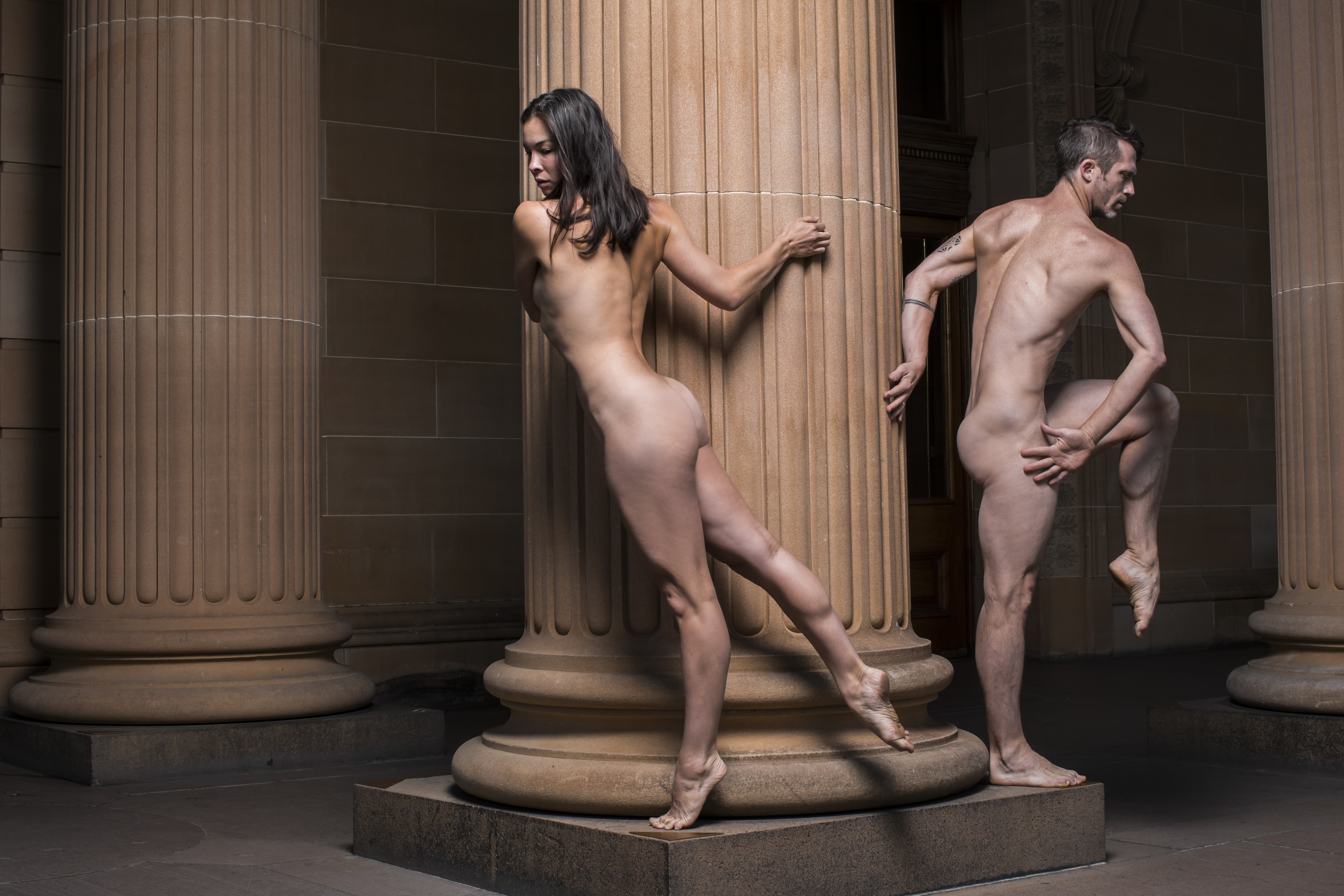 Dancers from Nude Live