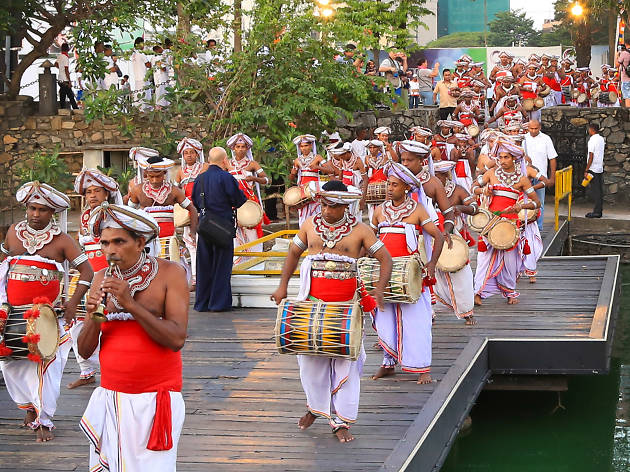 Gangaramaya Perahera