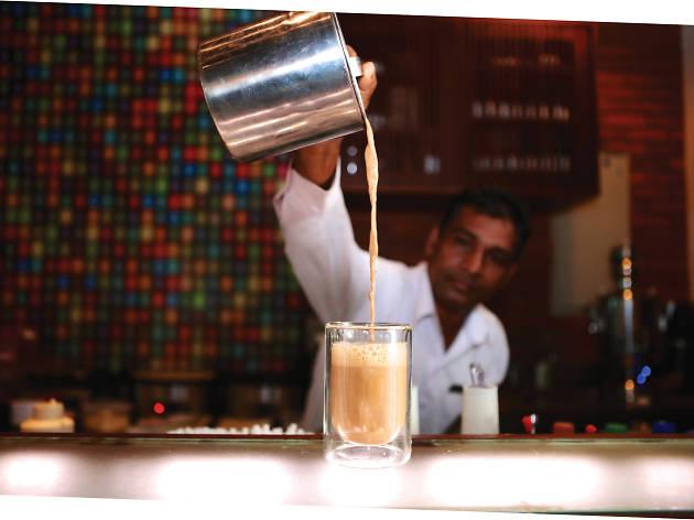 Tea kitsch (yarra tea or pulled tea)