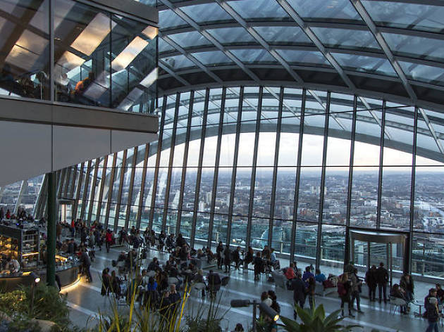 Breakfast for Two at the Sky Garden