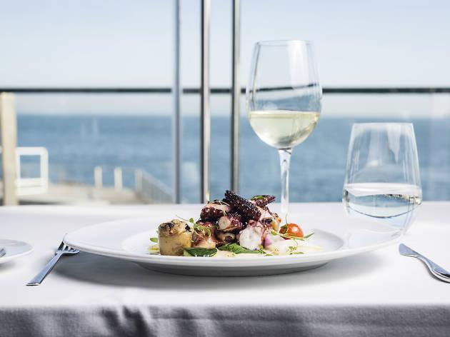 Restaurante, Cozinha de Autor, Farol Hotel, The Mix, Polvo grelhado