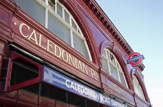 Caledonian Road tube station
