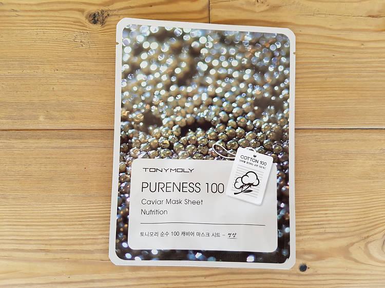 Pureness 100 Mask Sheet Caviar