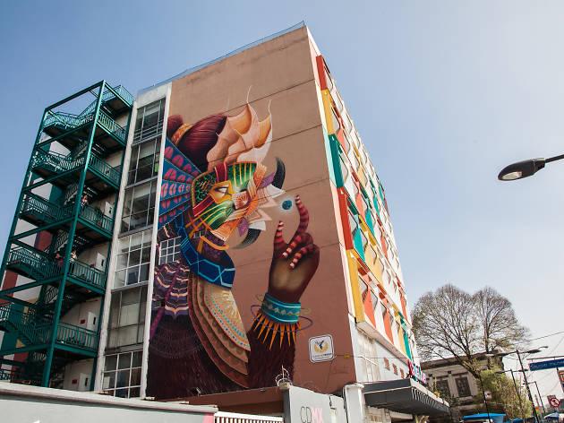 Murales contemporáneos en la Ciudad de México
