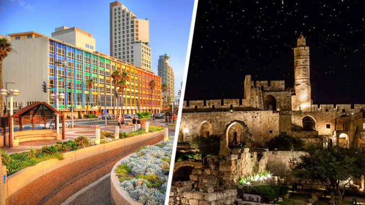 Два города. Одно путешествие