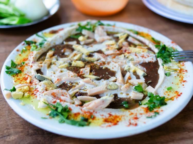 THE HUMMUS: Hummus Said