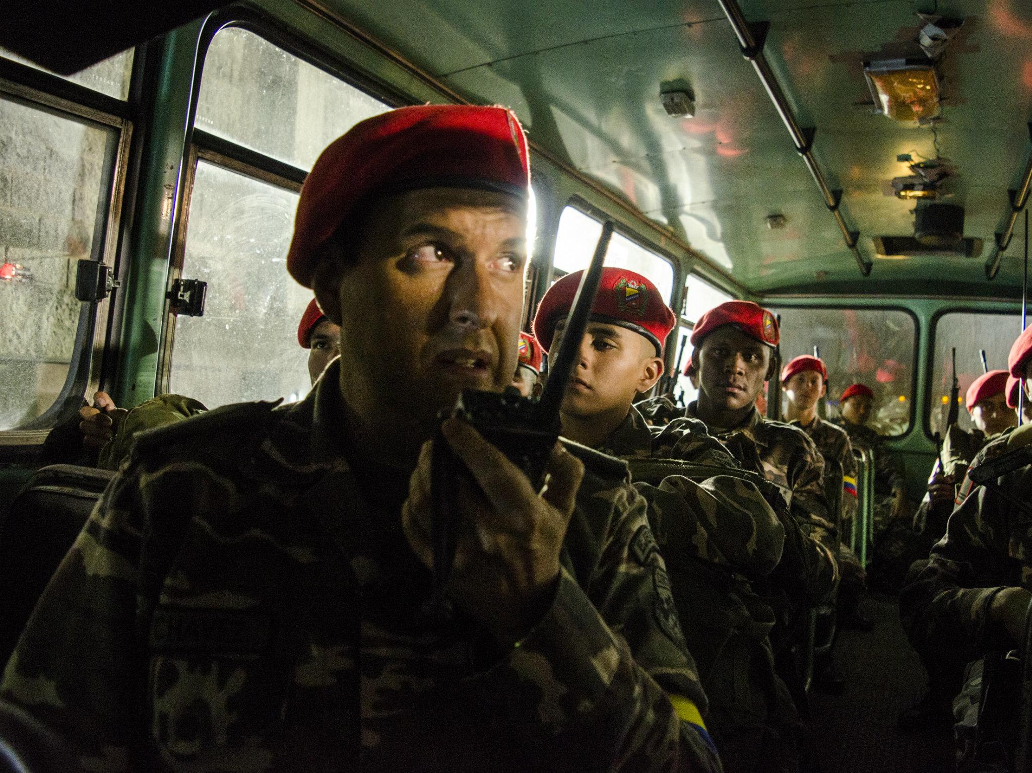 Set visit: El comandante