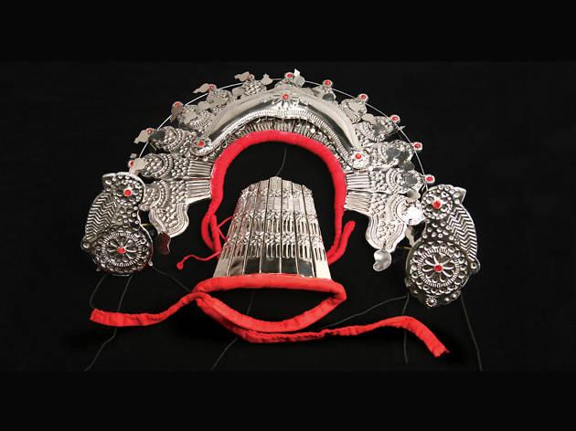 Silver headgear