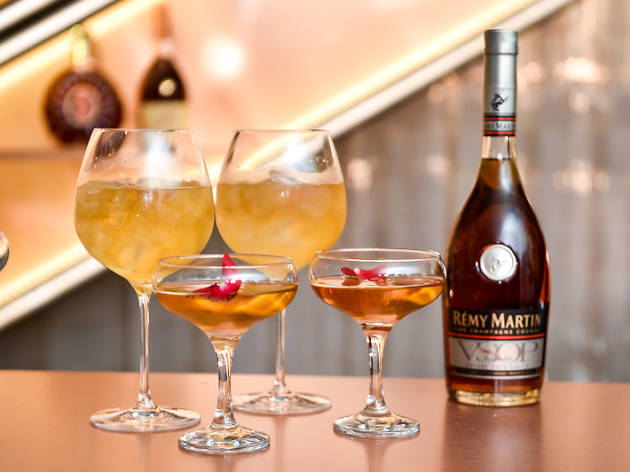 Launch of La Maison Rémy Martin pop-up private members' club at La Maison Rémy Martin, London, Britain on 2 Nov 2015.