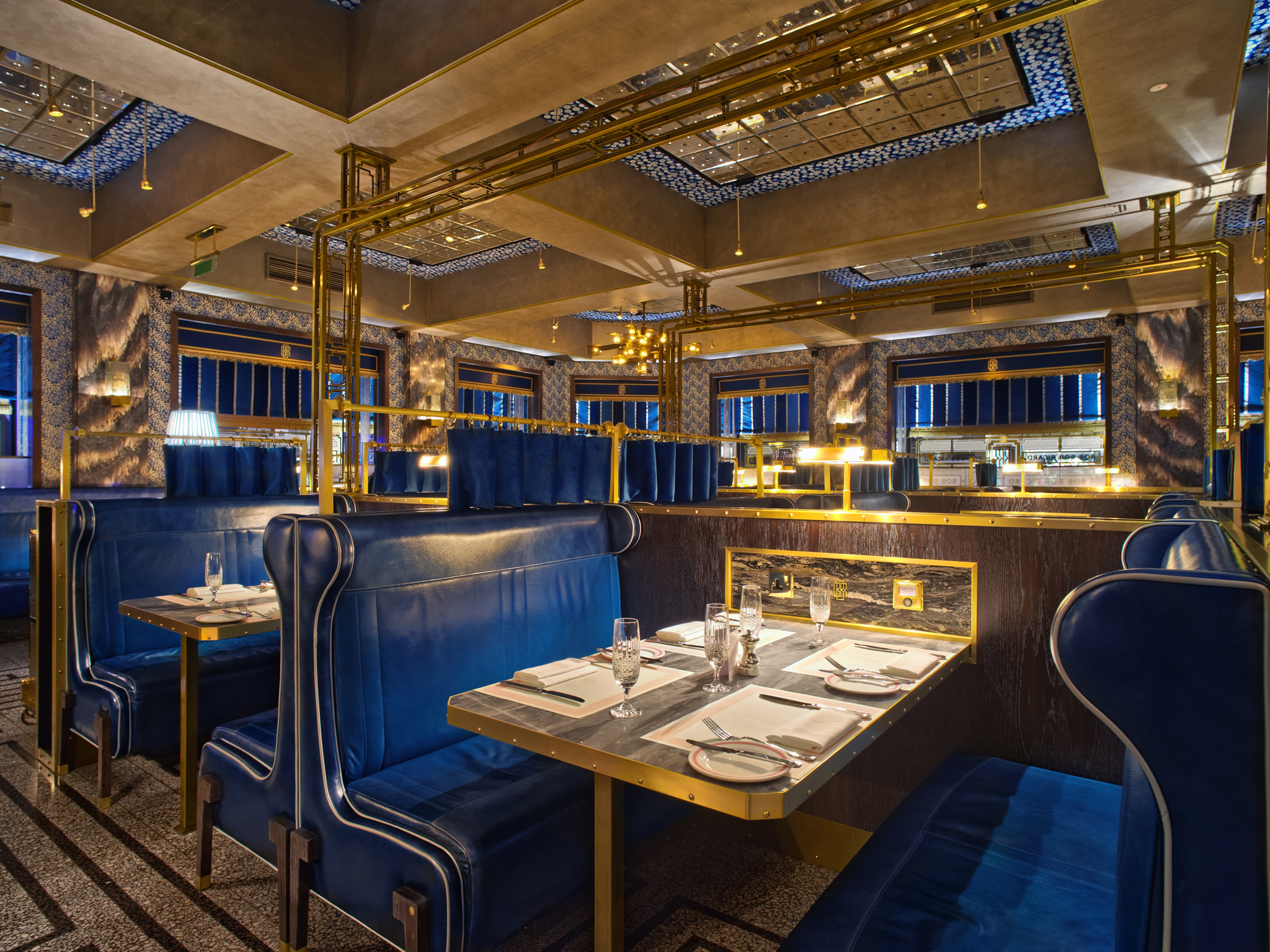 romantic restaurants in london, bob bob ricard