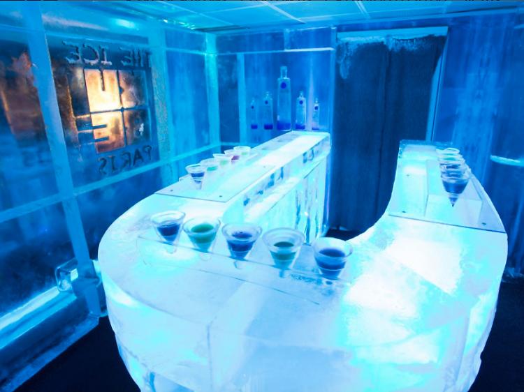 Ice bar au Kube Hôtel