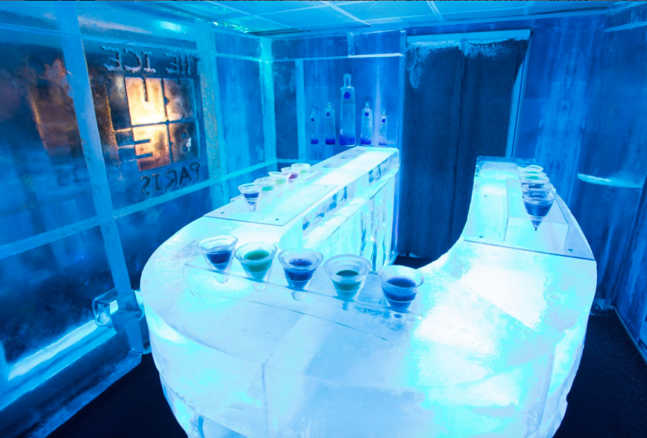 Chill at the Kube Hotel's Ice Bar