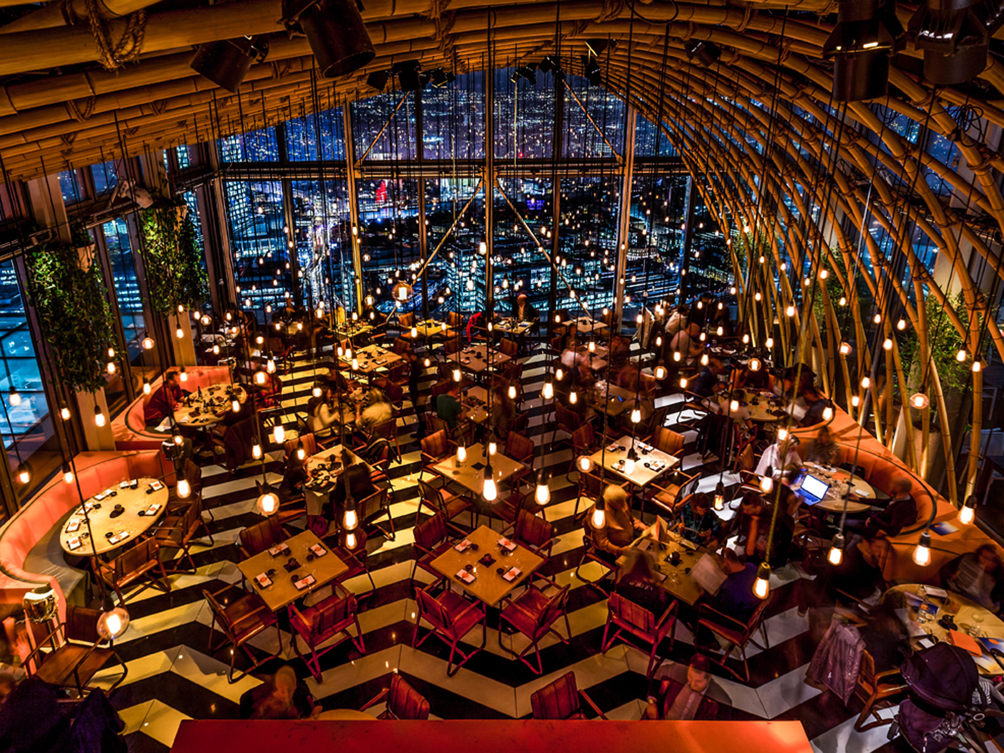 romantic restaurants in london, sushisamba