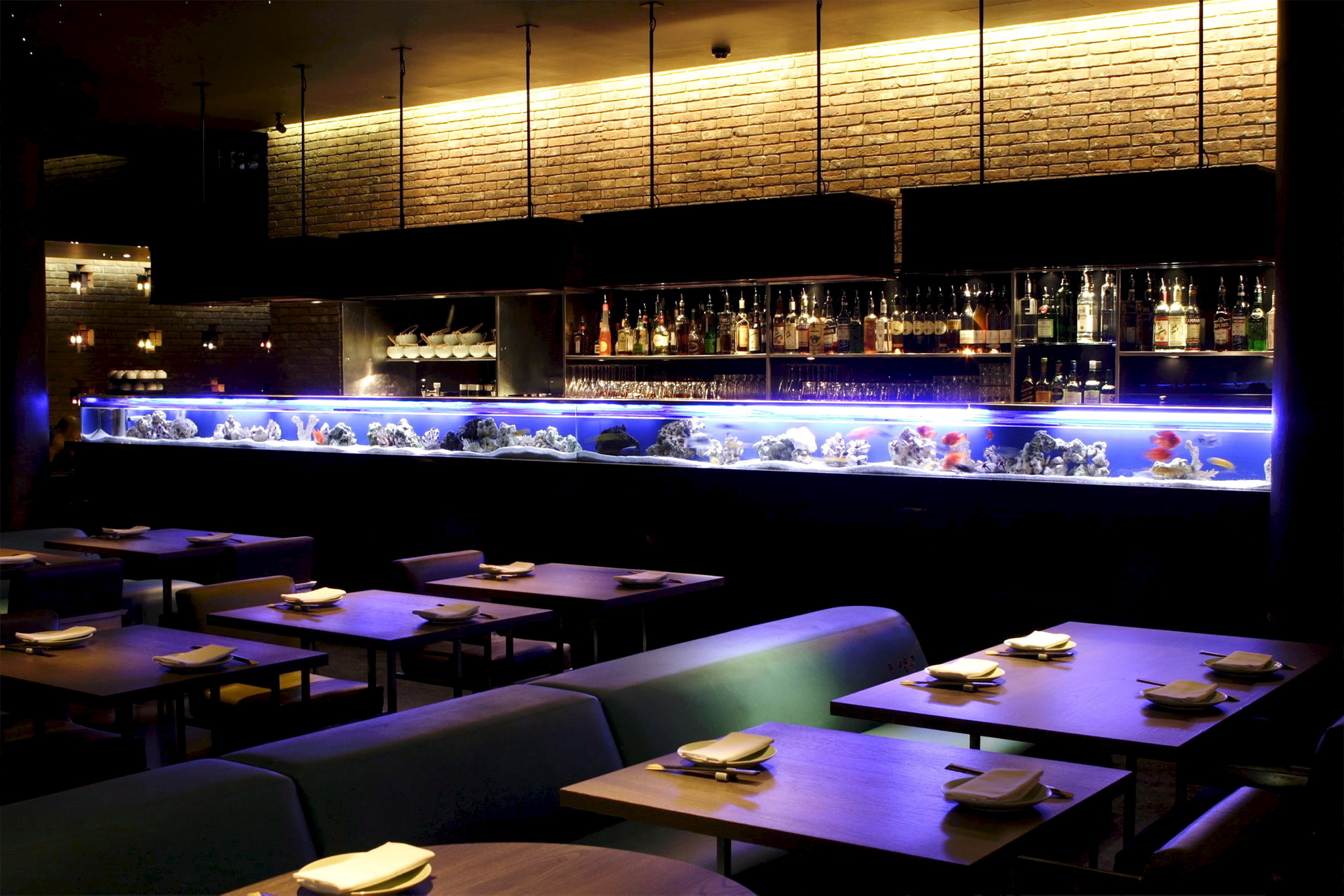romantic restaurants in london, yauatcha