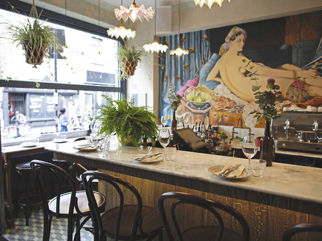 romantic restaurants in london, blanchette