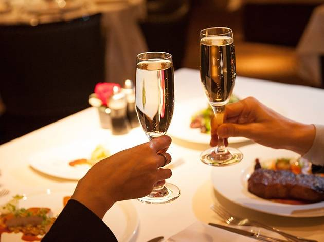 An evening dinner at The Carlyle Restaurant