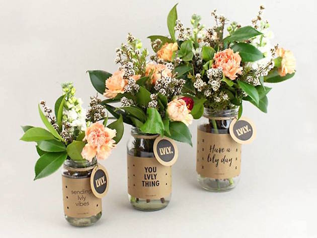 Flower jars at Lvly